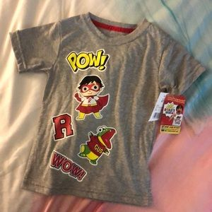 Other - NWT Ryan's World T-shirt 4T
